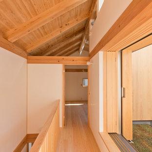 東京23区の和風のおしゃれな廊下の写真