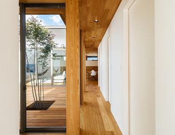 haus-flow/地域のオアシスとしての平屋中庭付き住宅