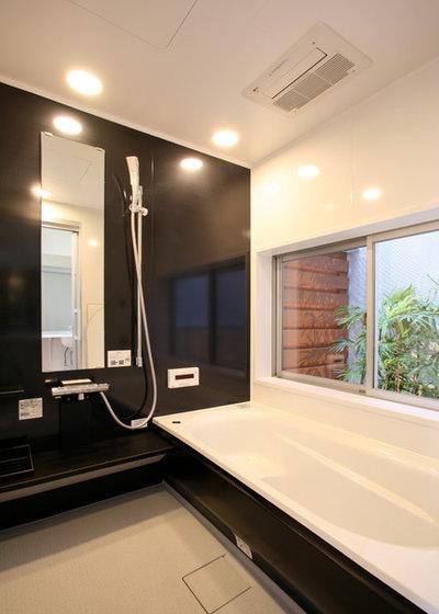 モダン 浴室 by 設計事務所アーキプレイス