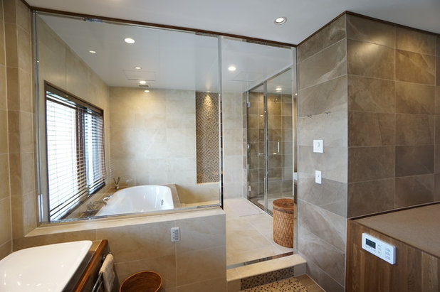 トラディショナル 浴室・バスルーム by Tokyo Bath Style (東京バススタイル)