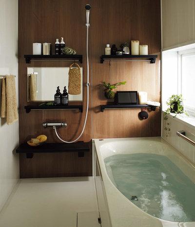 北欧 浴室 by 水まわり工房|クリナップ株式会社