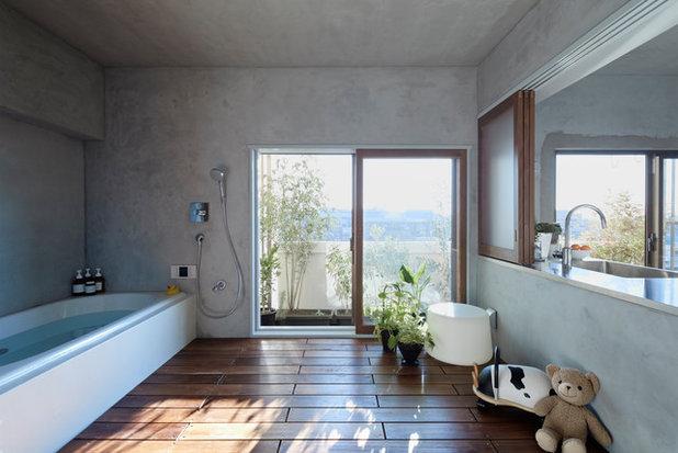 アジアン 浴室 by Sデザインファーム