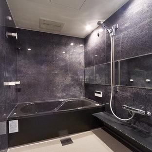 福岡のモダンスタイルのおしゃれな浴室の写真