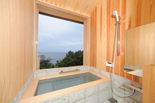 モダン 浴室 by 辰野武山建築設計事務所
