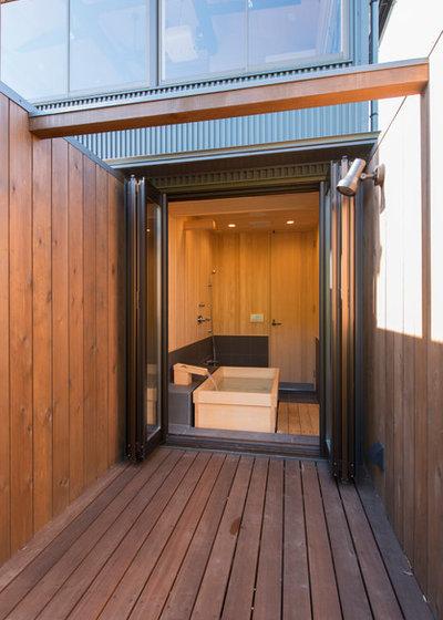 アジアン 浴室 by 中尾英己建築設計事務所