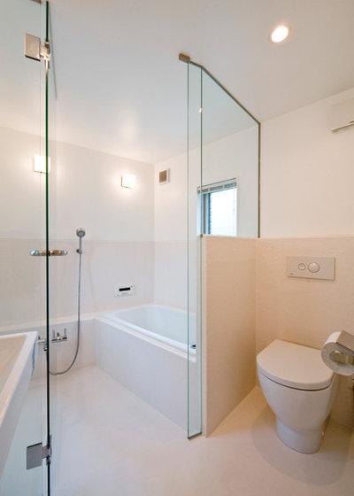 Modern Bathroom by 一級建築士事務所 水石浩太建築設計室