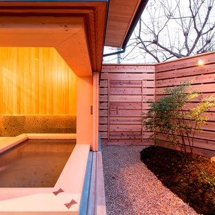 福岡の和風のおしゃれな浴室の写真