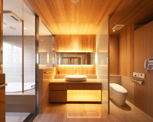 10 Best Asian Powder Room with Brown Walls Ideas & Remodeling ...