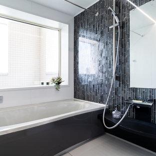 横浜のコンテンポラリースタイルの浴室・バスルームの画像