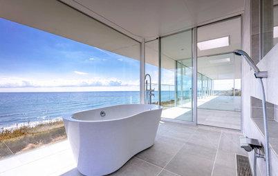 景色を楽しむ眺めのあるバスルーム22選