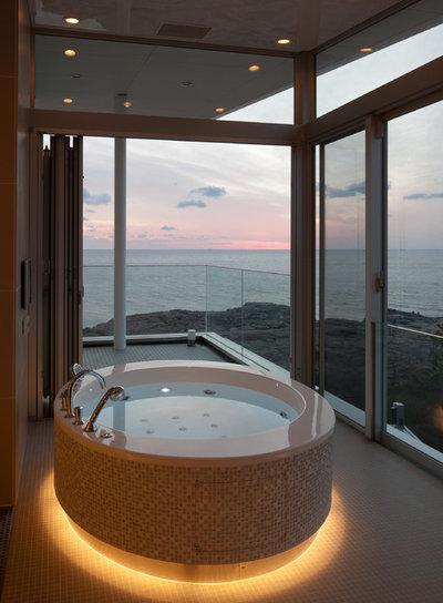 モダン 浴室 by 石橋清志建築設計事務所
