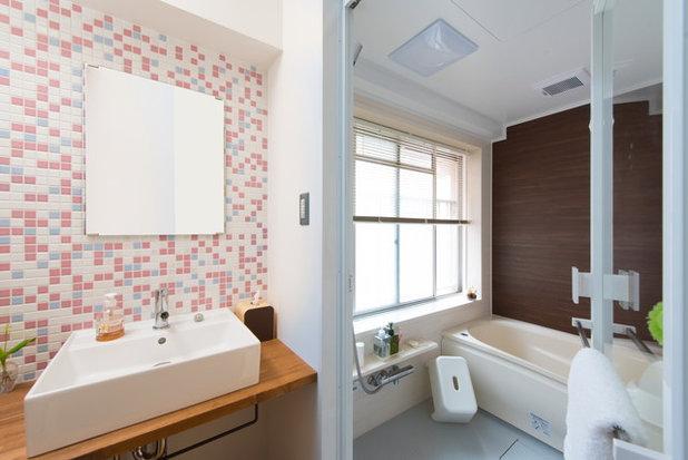 バスルーム by スタジオ桜の木