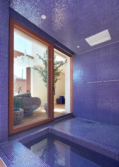 Mediterranean Bathroom by 藤原・室 建築設計事務所