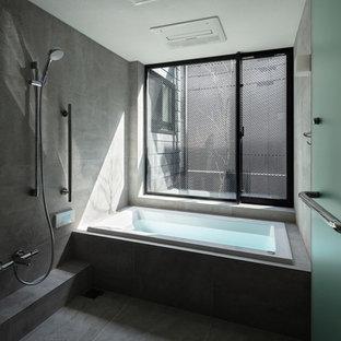 大阪のモダンスタイルのおしゃれな浴室の写真