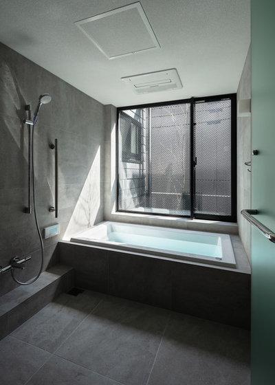 モダン 浴室 by Abax Architects/アバクス・アーキテクツ