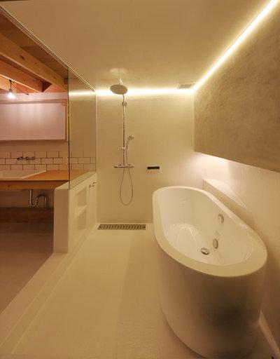 コンテンポラリー 浴室 by ことこと設計室