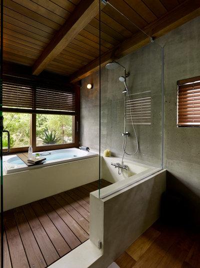 コンテンポラリー 浴室 by JAXSON