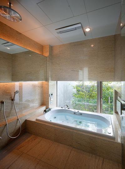 モダン 浴室 by JAXSON