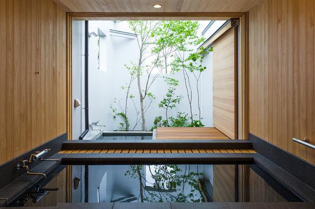 モダン 浴室 by 林田直樹建築デザイン事務所