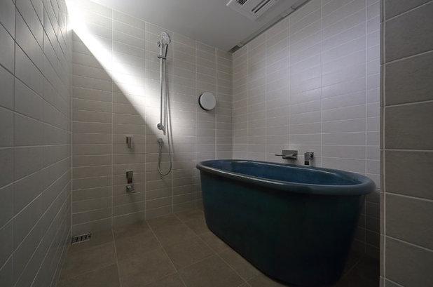 Minimalistisch Badezimmer By 田村篤昌デザイン事務所