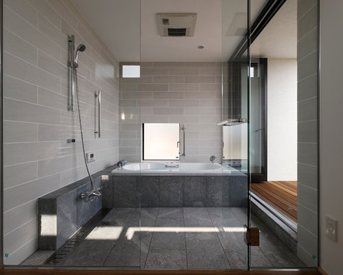 Best Bathroom with a Hot Tub Design Ideas & Remodel Pictures | Houzz