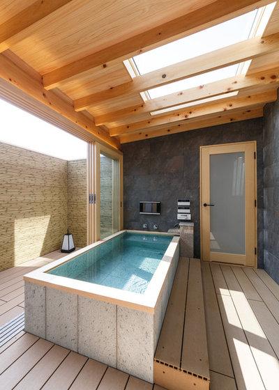 アジアン 浴室 by Lods一級建築士事務所