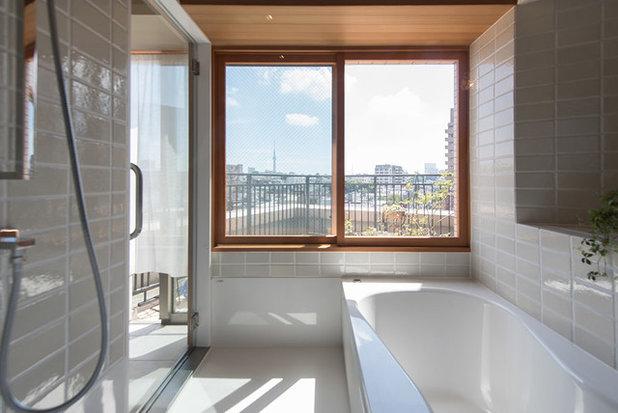 コンテンポラリー 浴室 by 株式会社ハンズデザイン一級建築士事務所