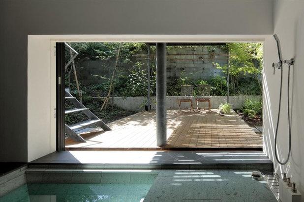 モダン 浴室 by 石井秀樹建築設計事務所 Ishii Hideki Architect Atelier