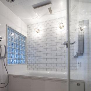 他の地域のインダストリアルスタイルのおしゃれな浴室の写真
