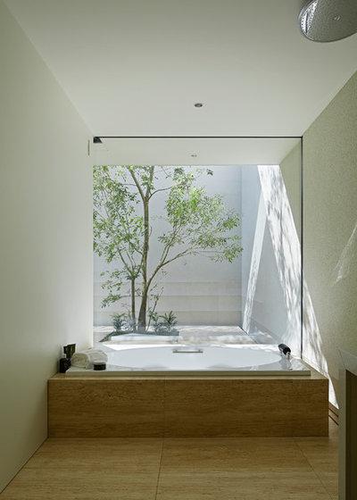 モダン 浴室 by 高田事務所 一級建築士事務所