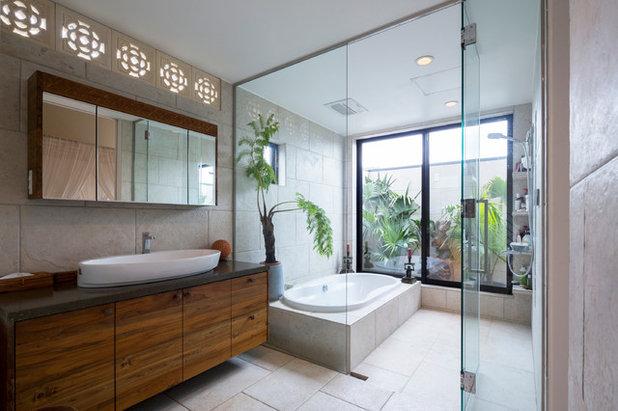 アジアン 浴室 by W.D.A