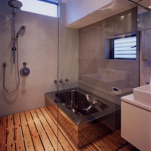 Пример оригинального дизайна: ванная комната в восточном стиле