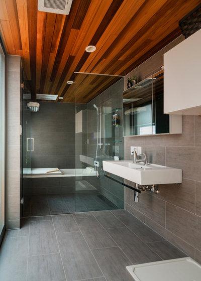 コンテンポラリー 浴室・バスルーム by R.クラフト株式会社