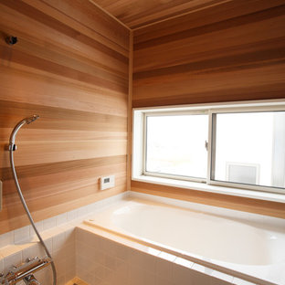 Scandinavian bathroom in Other.