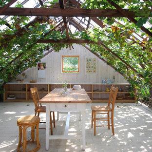 他の地域のアジアンスタイルのおしゃれな物置小屋・庭小屋の写真