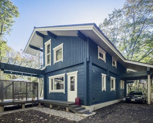 skandinavische garage und gartenhaus ideen bilder