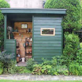 東京23区のコンテンポラリースタイルのおしゃれな物置小屋・庭小屋の写真