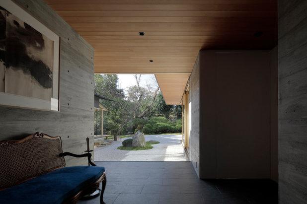 モダン 玄関 by CUBO design architect