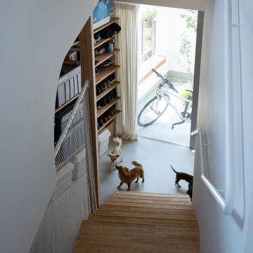 スキユハウス ―犬と暮らす、ねじれ屋根の家―