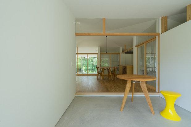 コンテンポラリー 玄関 by Smart Running 一級建築士事務所