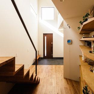 神戸のコンテンポラリースタイルのおしゃれな玄関の写真