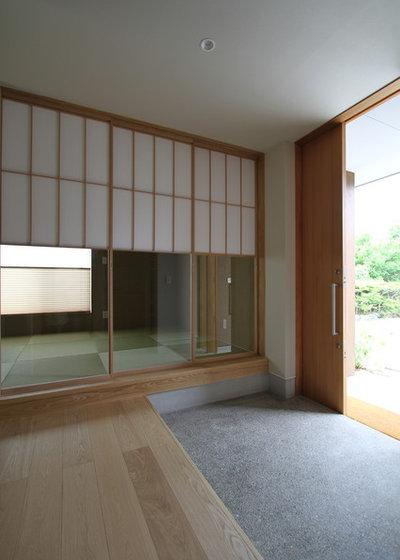 和室・和風 玄関 by 福田康紀建築計画
