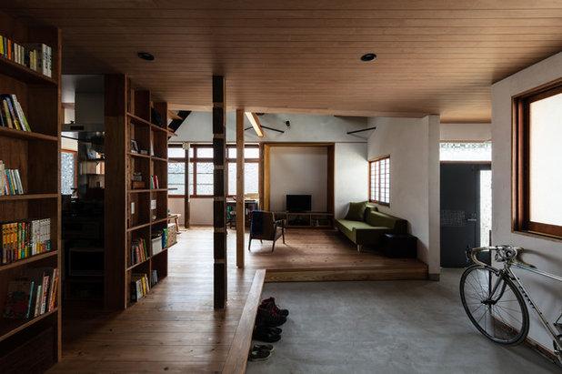 和室・和風 玄関 by エイチ・アンド一級建築士事務所