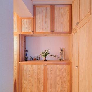 Exempel på en minimalistisk entré