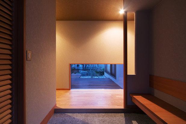和室・和風 玄関 by 株式会社 原建築設計研究所