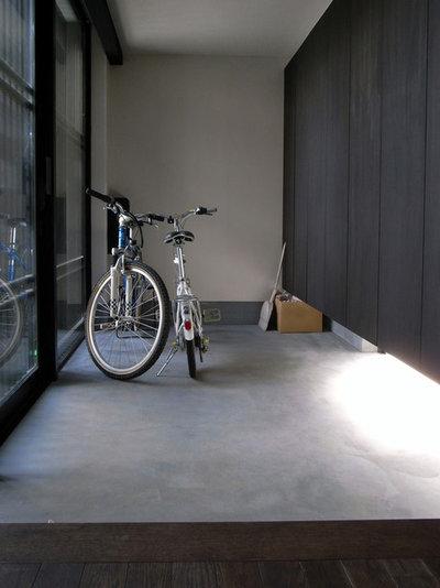 和室・和風 玄関 by アトリエハコ建築設計事務所