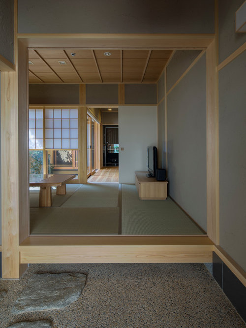 Japanese Foyer Design : Asian entryway design ideas renovations photos with