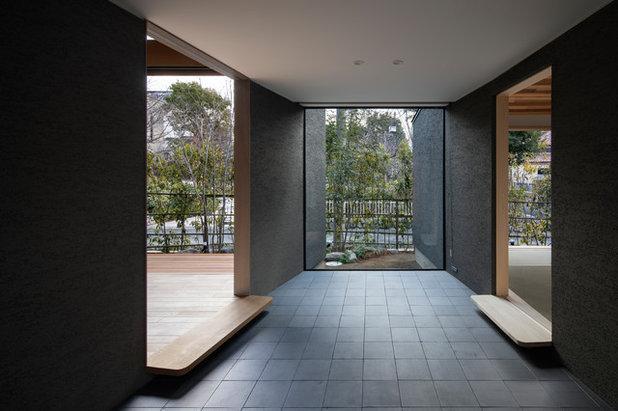 玄関 by 井上久実設計室