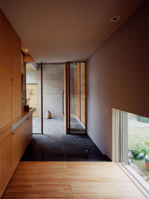 asiatischer eingang ideen design bilder houzz. Black Bedroom Furniture Sets. Home Design Ideas