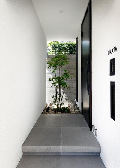 北欧 玄関 by 近藤晃弘建築都市設計事務所/Akihiro Kondo architecture